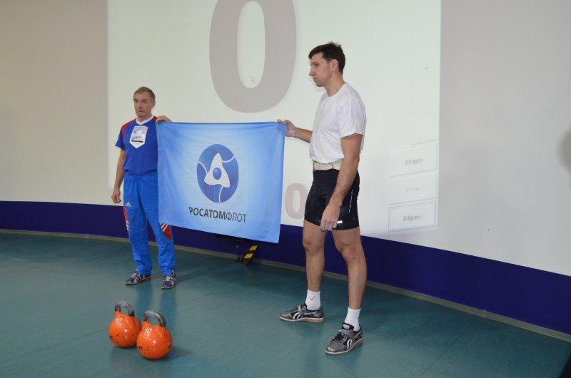Фото к «Поздравляем, Атомфлот!»  в Информационном центре по атомной энергии Мурманска.