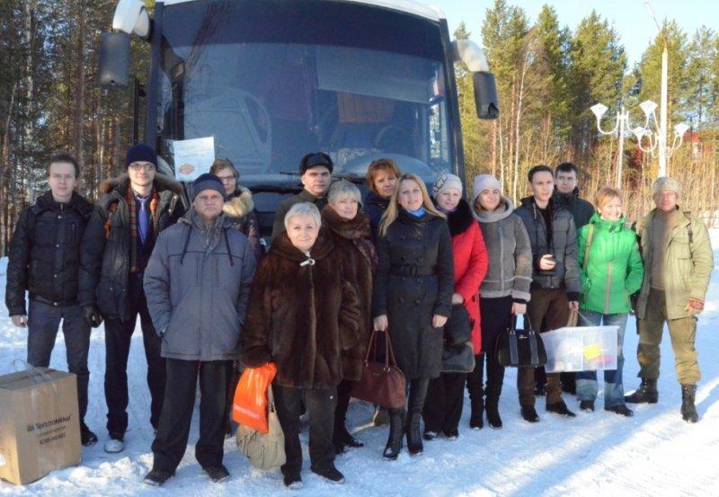 Фото к Мурманские учителя: «Вперед за знаниями на Кольскую АЭС!»